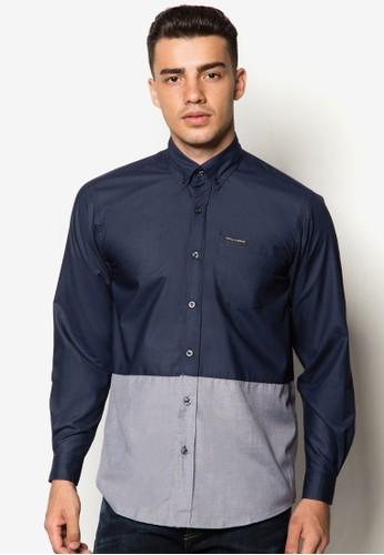 撞色長袖襯衫, 服飾, esprit tw襯衫