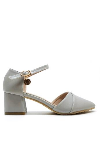 Twenty Eight Shoes 優雅尖頭中踭鞋546-1C 4EB64SHAA2A8C8GS_1