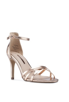 38928c9db52 Dorothy Perkins Metallic Samba Stiletto Heels S  56.90. Sizes 3 4 5 6 7