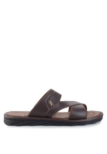 Homyped brown Civic 02 Men Sandals HO842SH62VEJID_1