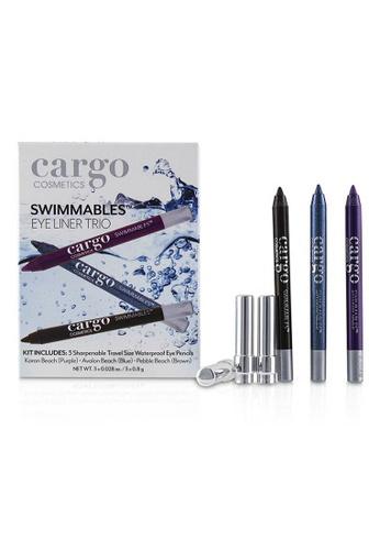 CARGO CARGO - Swimmables Eye Liner Trio 3x0.8g/0.028oz BEC77BE1E11C4FGS_1