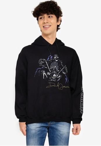 Mennace black Death Rider Hoodie 6C3F8AA75AAF91GS_1