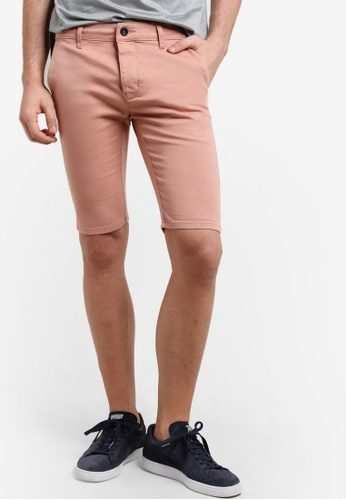 Topman pink Pink Chino Shorts TO413AA56VYDMY_1
