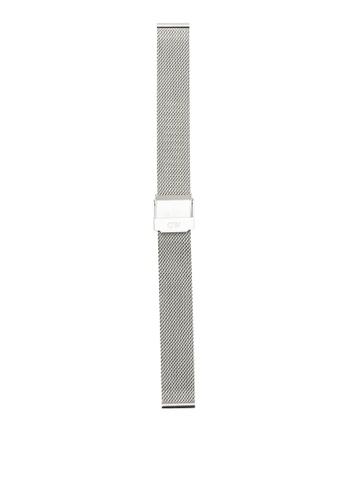 Daniel Wellington silver Classic Petite Sterling Watch Strap DA376AC39PMMMY_1
