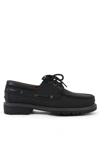 7soles black Harry Men's Casual Shoes 1CC05SHA99873FGS_1