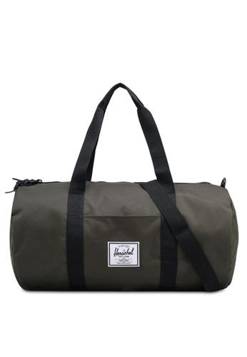 Herschel green Sutton Mid-Volume Duffel Bag EAA5BAC02AD9E1GS_1