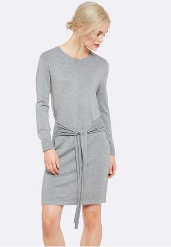 Oxford grey Ingrid Knitted Dress C929DAA1B54B8AGS_1
