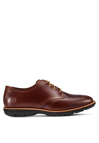Timberland brown Kempton Oxford TI063SH05QFEMY_1