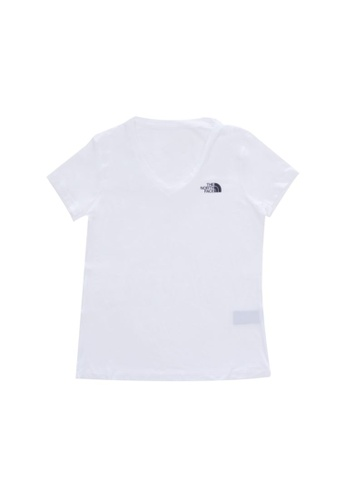 The North Face white The North Face Women Ambition Running Tee 2.0 TNF White 808F8AA3BA99A0GS_1