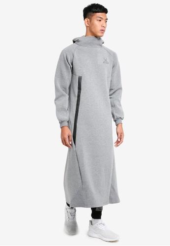 SYNDEED 灰色 Jubah Assassin 服飾 2F027AAF2EFA6CGS_1