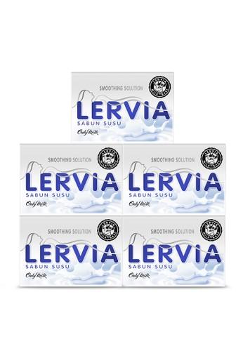 LERVIA n/a LERVIA Sabun Susu Milk 90g Value Pack 4F19FES75A6858GS_1