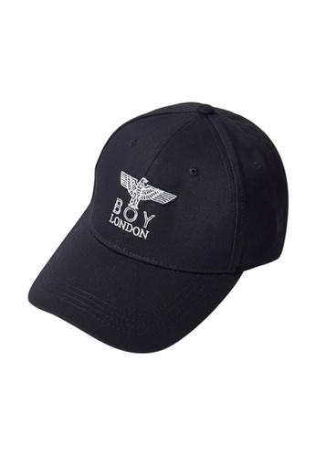 BOY LONDON black EAGLEBOY BASIC SOFT BALLCAP 74A43AC94133B6GS_1