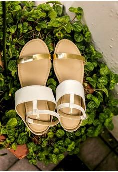 Fanatic White sandals