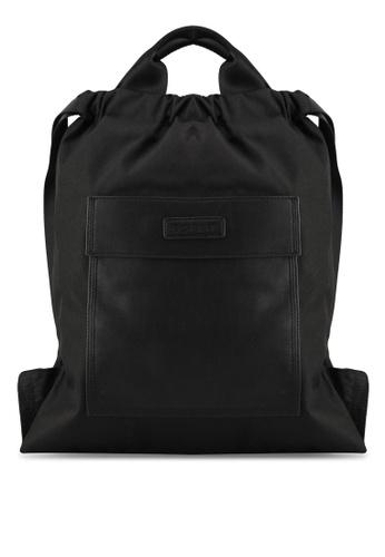Esprit black Casual Drawstring Bag FE1D3AC6F7ADF0GS_1