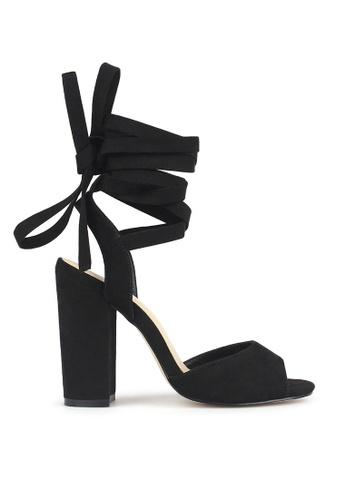 Betts black Tuscany Leg Tie Sandals 748BCSH992AA16GS_1