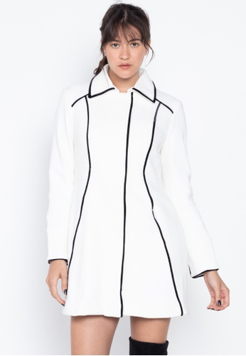 Susto The Label white Vola Coat 8D857AA226289FGS_1