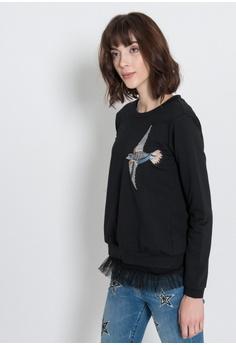 蜂鳥長袖T恤