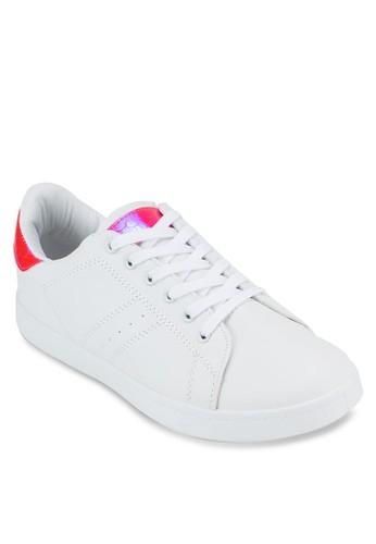 撞色拼接網球esprit台灣門市運動鞋, 女鞋, 鞋