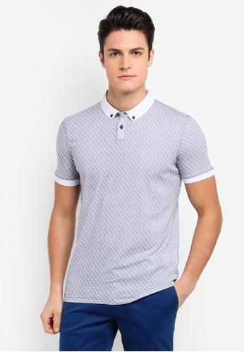BOSS beige Parish Polo Shirt - Boss Casual 890A5AAC49263FGS_1