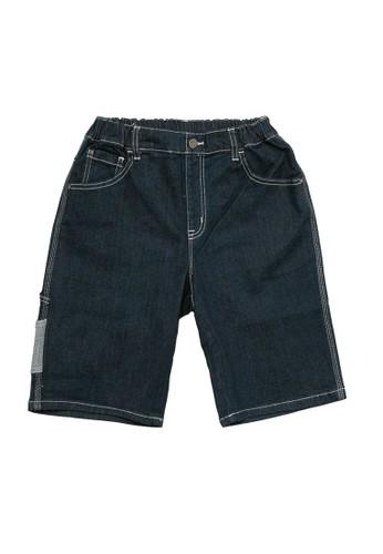 Giordano navy Boy's Denim Short FD0F2KA160D8B5GS_1