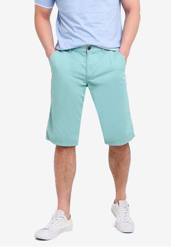 ESPRIT green Shorts Woven Regular 5C383AA2C07D6BGS_1