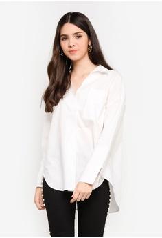 6112d0a564b046 Buy ICHI Women Blouses Online | ZALORA Malaysia