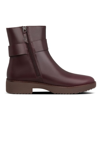 FitFlop purple Fitflop Women Knot Ankle Boots Lingonberry 11676SHFD4C1DCGS_1