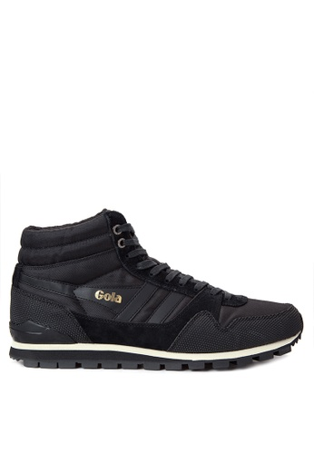 Gola black Ridgerunner High II Sneakers GO513SH52TQPPH_1