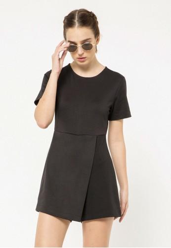 COLORBOX black Skort Dress 58D90AA4F2A35FGS_1