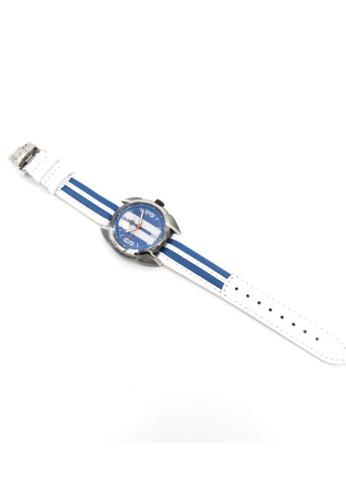 Mini blue Analogue Watch MI057AC20AIDHK_1