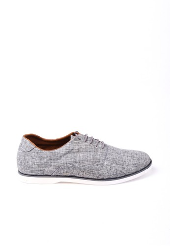 VALINO grey CANVAS WHITE PLATFORM SNEAKERS VA583SH0U8PVID_1
