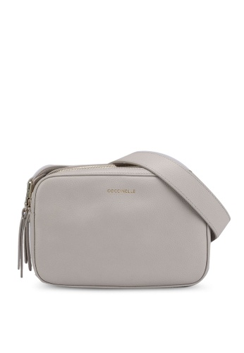 Coccinelle grey Rendez-Vous Crossbody Bag DEC6CAC3E633A7GS_1