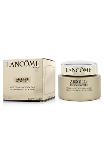Lancome LANCOME - Absolue Precious Cells Revitalizing Night Ritual Mask 75ml/2.6oz CA5E2BE762CA4EGS_1