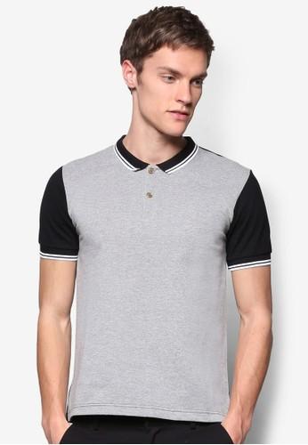 對比色短袖 POLO 衫, 服飾, Poesprit台灣官網lo衫