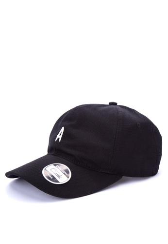 Penshoppe black Canvas Baseball Cap 6EF57AC146C4C1GS_1