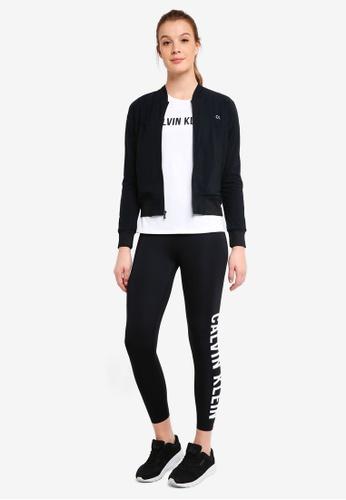Calvin Klein black Ckp Bk Bomber Jacket - Calvin Klein Performance 3E13DAAD4D90E9GS_1