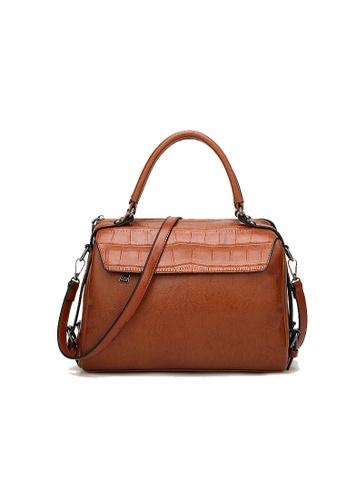 Lara brown Shoulder Bag for Women 92710ACD370905GS_1
