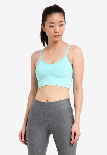 Under Armour green Seamless Ombre Novelty Bra UN337US0SU2CMY_1
