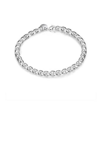 Glamorousky silver Fashion Geometric Bracelet 9F6B9AC92C60A2GS_1