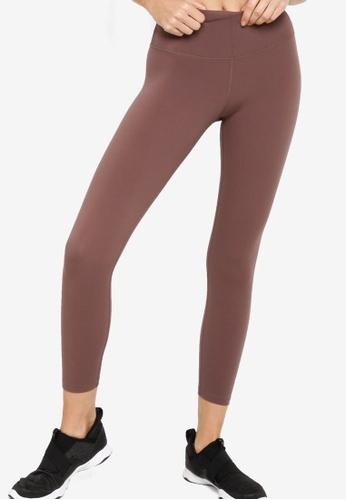 Lorna Jane grey Lotus Ankle Biter Leggings B21CAAA13B1F3EGS_1