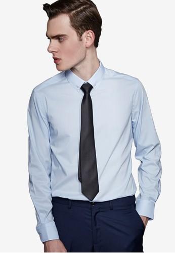 紳士嫵媚。彈力修身。素面精紡商務襯衫-MIT-11007-藍色、 服飾、 商務襯衫Life8紳士魅力。彈力修身。素面精紡商務襯衫-MIT-11007-藍色最新折價