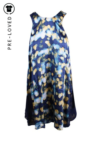 Elizabeth And James blue Pre-Loved elizabeth and james Roni Light-Print Dress 06B85AAAD900A7GS_1