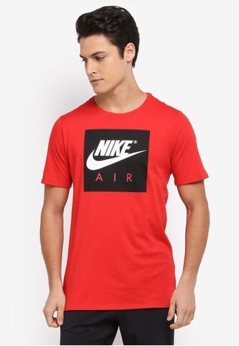Nike red Men's Nike Sportswear T-Shirt NI126AA0STWUMY_1