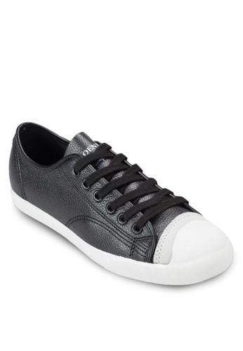 仿皮繫帶休閒鞋, 女鞋,esprit台灣門市 鞋