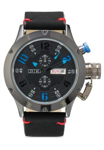 esprit 尖沙咀PU 錶帶行針手錶, 錶類, 其它錶帶