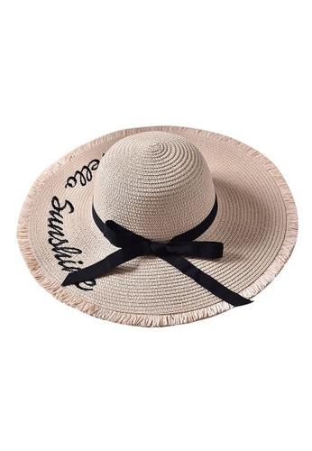 5866b52c Buy Coral Secret Foldable Beach Hat in White Color Online on ZALORA  Singapore