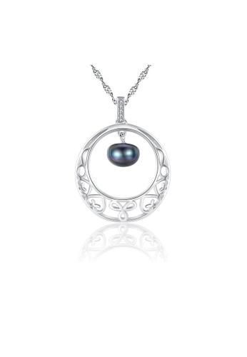 SUNRAIS silver High-grade colored stone silver fashion necklace 898C7AC775862EGS_1