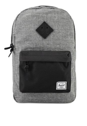 Herschel grey Heritage M Backpack 1A360AC6DE8E11GS_1