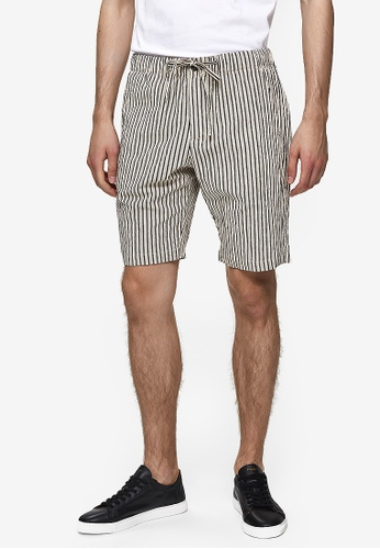 good out x new specials price remains stable Tapered-Bradly Seersucker Shorts