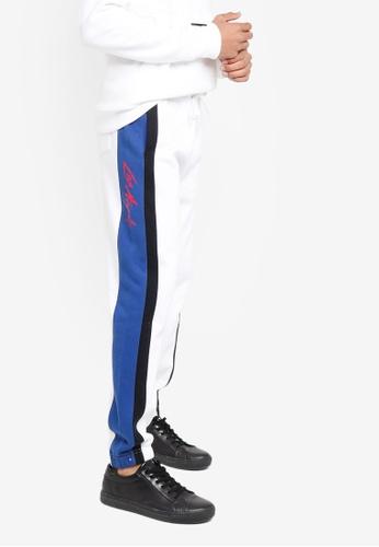 Hollister white Trend Drop Jogger Pants 76C2AAA6E02320GS_1